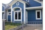 Model Rumah Minimalis Sederhana : Maksimalkan Warna Biru !!
