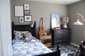 kamar tidur anak laki-laki minimalis contoh