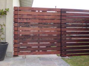 pagar rumah minimalis modern gambar