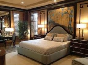 kamar tidur utama minimalis sederhana gambar