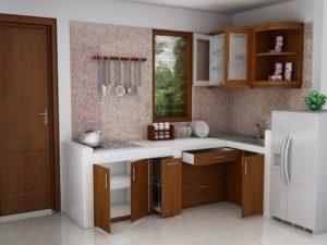 Model Kitchen Set Minimalis Untuk Dapur Kecil Terkini