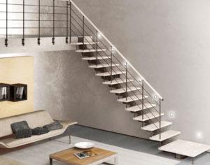 model tangga minimalis modern pic