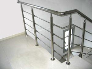 pagar tangga minimalis modern pic