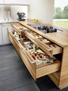 kitchen set minimalis modern pic