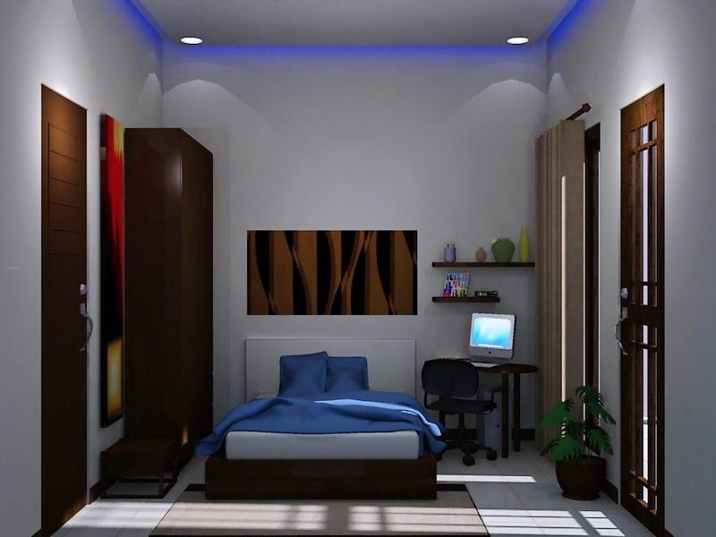 Tata Ruang Dan Desain Kamar Tidur Minimalis Ukuran 4x4